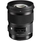 Sigma 50mm f/1.4 EX DG HSM Lens Canon