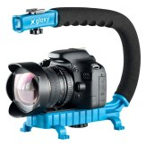 Gloxy Movie Maker light Stabilizer Handle Blue