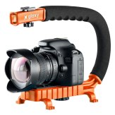 Gloxy Movie Maker Stabilizer Handle Orange