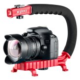 Gloxy Movie Maker Stabilizer Handle Red