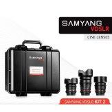 Kit Samyang para Cine 14mm, 35mm, 85mm Canon