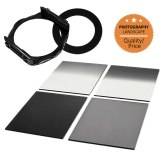 Type P Series Filter Holder + 4 ND Square Filters 62 mm