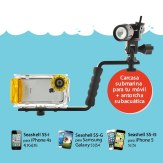 Seashell SS-1 Waterproof Camera Case Smartphones + Seashell SS-Light