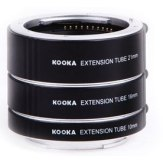Extension Tube Set for Sony 10mm, 16mm, 21mm