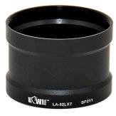 52mm Kiwifoto Panasonic Adapter Tube for DMC-LX7 / Leica D-Lux6