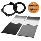 Kit P Series Filter Holder + 4 ND Square Filters 55mm