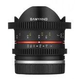 Samyang 8mm T3.1 VDSLR UMC CSC Lens Fuji X