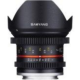 Samyang 12mm V-DSLR T2.2 NCS CS Lens Sony E Black