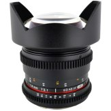 Samyang VDSLR 14 mm T3.1 ED AS IF Lens MFT