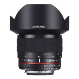 Samyang 14mm Ultra Wide-Angle f/2.8 IF ED UMC Lens Nikon AE Mount