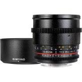 Samyang 85mm VDSLR T1.5 UMC Nikon MKII Lens