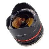 Samyang 8mm f/2.8 Fish Eye Lens Fuji X Black