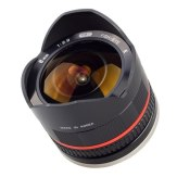 Samyang 8mm f/2.8 Fish Eye Lens Samsung NX Black