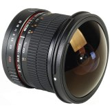 Samyang 8mm f/3.5 Fish-eye CS II Lens Nikon AE