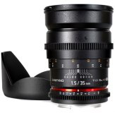 Samyang 35mm T1.5 V-DSLR AS IF UMC Lens Canon