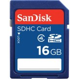 SanDisk SDHC 16GB Card Class 4