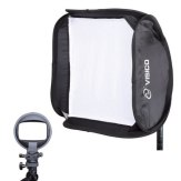 Visico EB-060 40 x 40cm Soft Box for Strobist