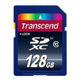 Transcend SDXC 128GB Ultimate Class 10 Memory Card