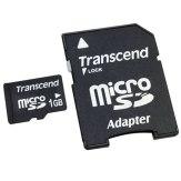 Transcend MicroSD Transflash 1GB Memory Card