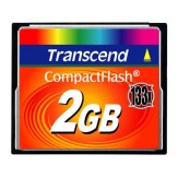 Transcend CF Compact Flash 2GB 133x Memory Card