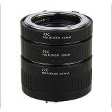 JJC AET-NS Automatic Extension Tube Kit for Nikon F
