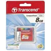 Transcend 8GB 133X MLC Compact Flash Memory Card