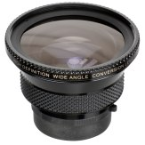 Raynox HD-5050 Pro Super Wide Angle Conversion Lens Black
