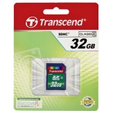 Transcend 32GB SDHC Card Class 4