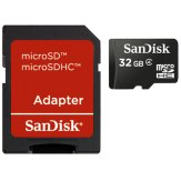 Sandisk 32GB Imaging microSDHC Card