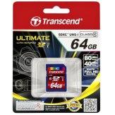 Transcend 64GB SDXC Class 10 UHS-I Memory Card