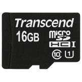 Transcend 16GB MicroSDHC Card Class 10 UHS-I