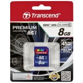 Transcend 8GB SDHC UHS-I Card Class 10