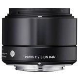 Sigma 19mm f/2,8 DN Micro Four Thirds Mount Black