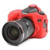easyCover Case Canon EOS 70D Red