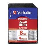 Verbatim 8GB SDHC Class 10 Card