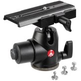 Manfrotto 468MGRC3 Magnesium Hydrostatic Ballhead + Quick Release Plate