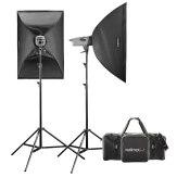 Walimex Pro Studio Flash Head Kit VE 400/400
