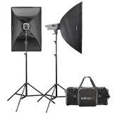 Walimex Pro Studio Flash Head Kit VE 200/200