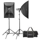 Walimex Pro Studio Flash Head Kit VE 300/300