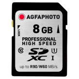 AgfaPhoto 8GB SDHC UHS Pro Ultra High Speed Class 10 Flash Card