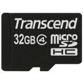 Transcend 32GB MicroSDHC Card Class 4