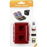 Gepe Card Safe Extreme Memory Card Protector Red