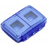 Gepe Card Safe Extreme Memory Card Protector Blue