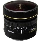 Sigma EX 8mm f3.5 DG AF Fisheye Lens Canon