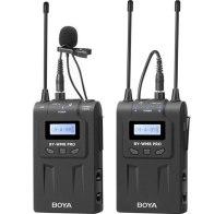 Boya BY-WM8 Pro K1 Wireless Microphone Dual-Channel Lavalier UHF for Olympus E-5