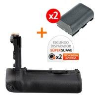 Gloxy GX-E6 Battery Grip Kit with 2 LP-E6 Batteries