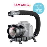 Samyang Fisheye 8mm and Stabilizer Video Kit for Fujifilm FinePix S3400