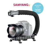 Samyang Fisheye 8mm and Stabilizer Video Kit for Pentax K-5