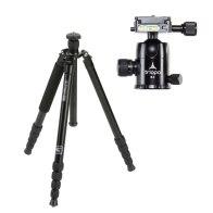 Kit Triopo 2in1 Tripod MT-3230X8C + B-2 Ball Head for Fujifilm FinePix S5 Pro