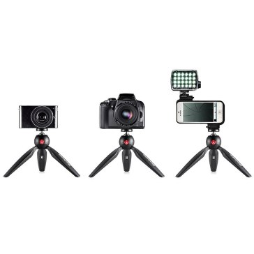 Manfrotto Pixi Mini Tripod Black for Pentax Optio WG-1 GPS